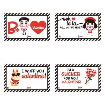 Will You Be Mime - Valentines - PR