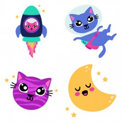 Space Cats - GS