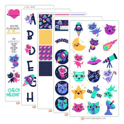 Space Cats - Graphic Bundle