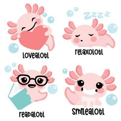 Happy Axolotl - Characters - CS