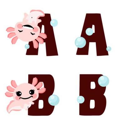 Happy Axolotl - AL