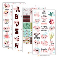 Happy Axolotl - Graphic Bundle