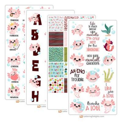 Happy Axolotl - Graphic Bundle