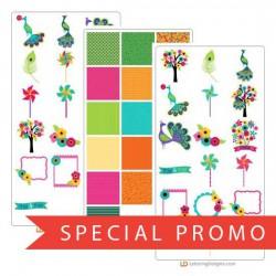 Peacocks and Pinwheels - Promotional Bundle