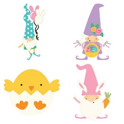 Spring Gnomes - Easter - CS