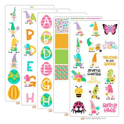 Spring Gnomes - Graphic Bundle