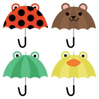 Singing In The Rain - Umbrellas - CS