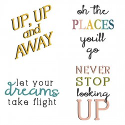 Up And Away - Phrases - GS