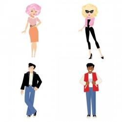 Fabulous Fifties - Ladies and Dudes - CS