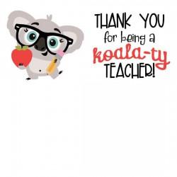 Kutie Koala - Teacher - GS