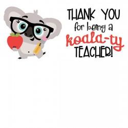 Kutie Koala - Teacher - CS