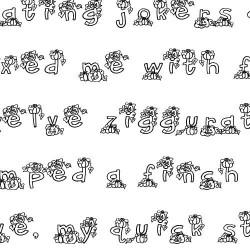 LDJ Jack O' Lantern - Font