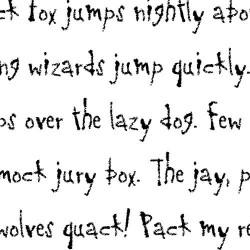 LDJ Ghostwriter - Font