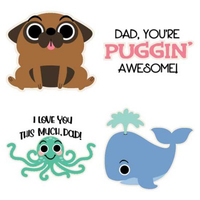 Punny Father's Day - Animals - CS