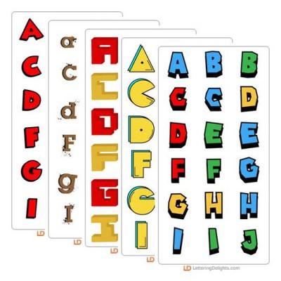 Play Hard - Alphabet Bundle