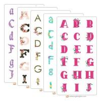 Flirty Florals - Alphabet Bundle