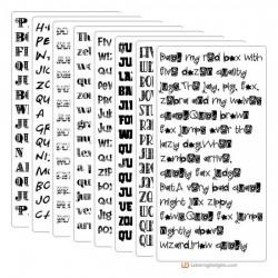Doodle Dandy - Font Bundle