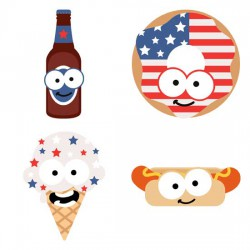 Happy Americana - Cookout - GS