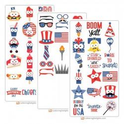 Happy Americana - Cut Bundle