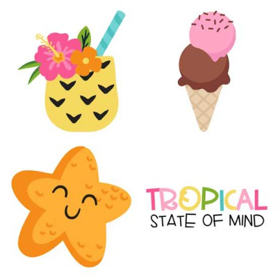 Tropical Vibes - Too - GS