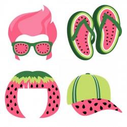 Watermelon Splash - Photo Props - GS
