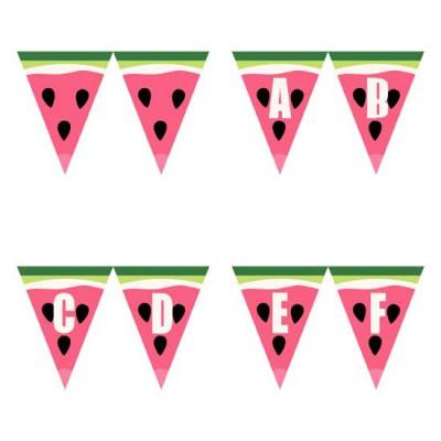 Watermelon Splash - Pennants - PR