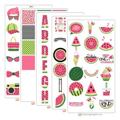 Watermelon Splash - Graphics Bundle