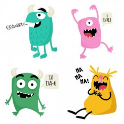 Silly Monsters - GS