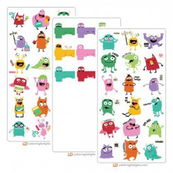 Silly Monsters - Cut Bundle