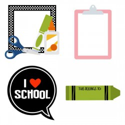 Tools of the Trade - Labels and Frames - GS