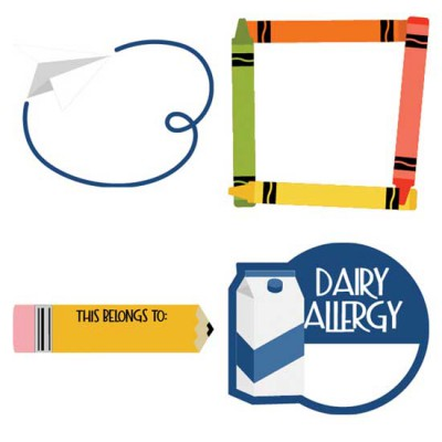 Tools of the Trade - Labels and Frames - CS