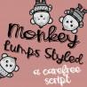 PN Monkey Lumps Styled - FN -  - Sample 2
