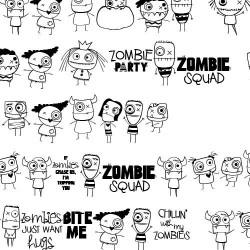 DB Halloweenies - Zombies - DB