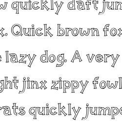 LD Regular Joe - Font