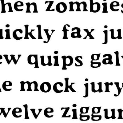 LD Typeset - Font
