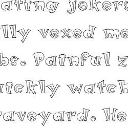 LD Hefty Serif - Font