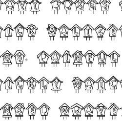 LD Birdhouses - Font