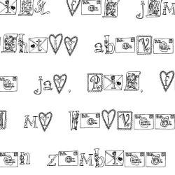 LDJ Love Letters - Font
