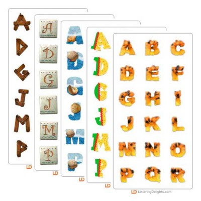 LD April 2004 Alphabet Bundle