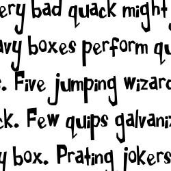 LDJ Kicks - Font