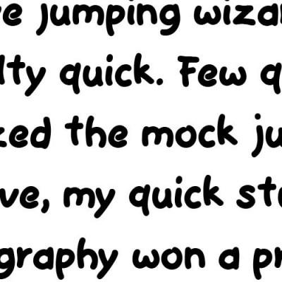 LD Plump - Font