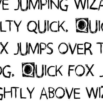 LDJ Scarecrow Scrawl - Font