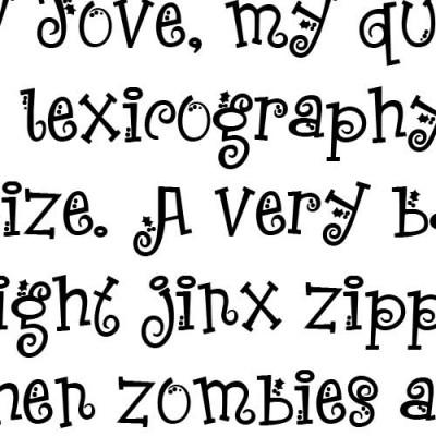 LDJ Jingleberry - Font