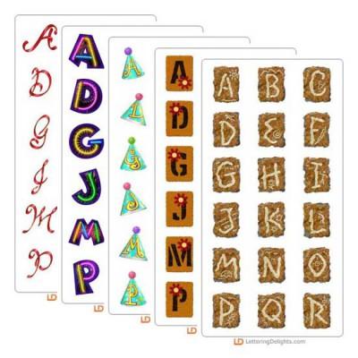 LD December 2004 Alphabet Bundle