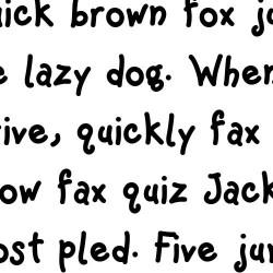LD Whimsy - Font