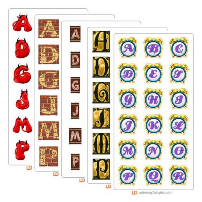 LD January 2005 Alphabet Bundle