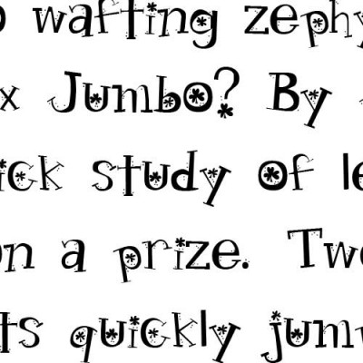 LDJ Leprechaun Hand - Font