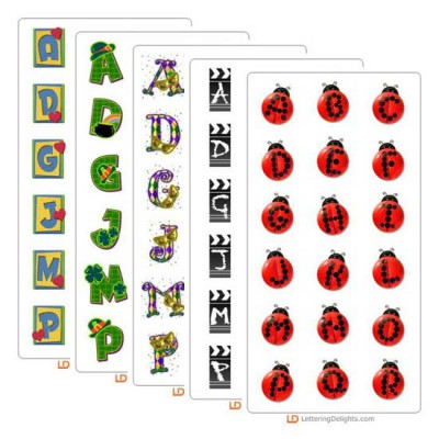 LD February 2005 Alphabet Bundle