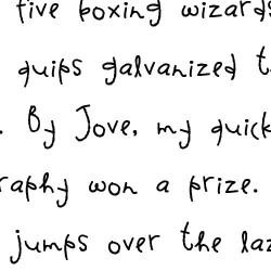 LDJ Spaz Girl - Font