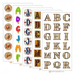 March 2005 Alphabet Bundle